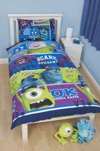 Disney Monsters Inc University Single Rotary Duvet Set, Multi-Colour £6.29 and FREE delivery @ Amazon /  PremierDropShop.