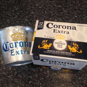 Corona Beer 12 bottles for £12.00 plus free ice bucket @ Sainsburys