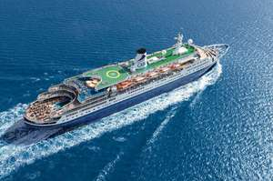 1 Night Mini Cruise With Full Board For One Sharing Superior Ocean View Cabin £69 @ groupon / cruiseandmaritime.com
