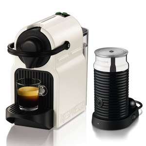 Nespresso Inissia Coffee Capsule Machine with Aeroccino3 by KRUPS, White £79.99 @ Lakeland