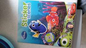 Disney Sticker Scenes book. £1 @ Tesco