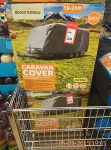caravan cover 19-21ft reduced 50% £34.99 @ Aldi