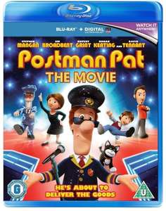 Postman Pat - The Movie Blu Ray @ Tesco Direct for £4