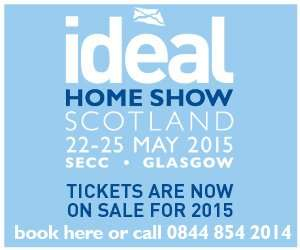 Two Free Tickets to Ideal Home Show @ SECC Glasgow 22- 25th May. (code DMAILF)