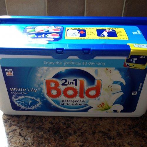 33 Bold liquid tabs £1.25 asda instore