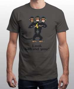 Three-Headed Monkey T-Shirt £8 (+£2.50 P+P) (£10.50) @ Ubertee