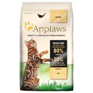 7.5kg Applaws Cat Food for £26.54 with free nominated day and time delivery @ Ocado