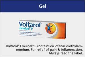 Voltarol Pain-eze Emulgel  - 30g £3.19 at Savers