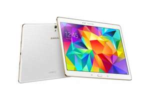 Galaxy Tab S 10.5 Wi-Fi with £30 google play credit, pair of Cinema tickets and quidco £199.50 @ Samsung