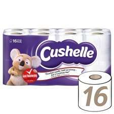 Cushelle 16 rolls for £6 in-store and online @ Tesco