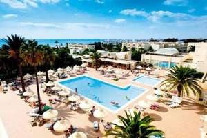 14 night all inclusive Thomson holiday, Hammamet, Tunisia. £261.36pp includes transfers, 15k luggage per person as well as 5kg hand luggage. Holiday hypermarket.