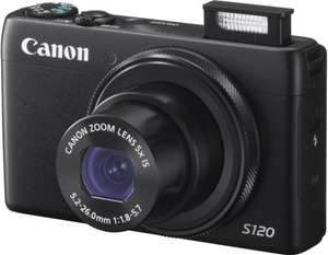 Canon PowerShot S120 Camera - Black (12.1MP, 5x Zoom) 3 inch Touch LCD £205.13 @ Amazon