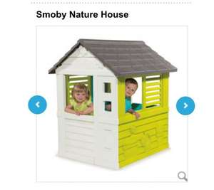 Smoby nature playhouse - £64 - ToysRUs