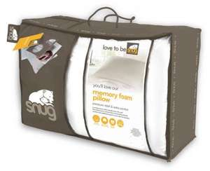 Snug Memory Foam Pillow, reduced to £15 from £50 @ Debenhams