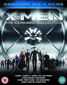 X-Men Cerebro Collection Blu Ray (7 Films) - Pre Owned - £18 CEX