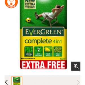 Evergreen Complete 4 in 1 - 400m2 - £18 @ B&Q