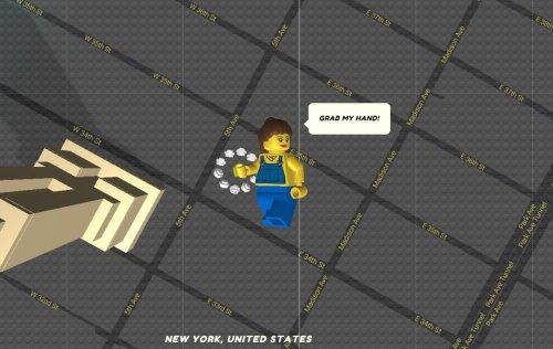 Lego style - Brick Steet view!