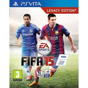Fifa 15 ps vita at John lewis for £16 limited stock