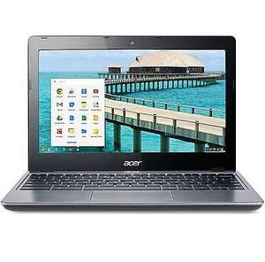 "Acer Chromebook 2GB DDR3 16GB SSD Google Chrome OS 11.6"" Screen C720-29552G01AIIREFURBISHED WITH A 12 MONTH - EBAY / TESCO OUTLET WARRANTY £119.00"