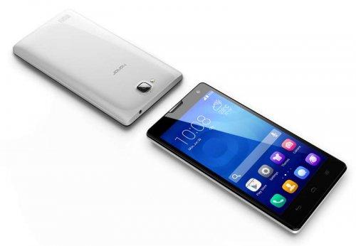 "Huawei Honor 3C Dual SIM (Black/White - SIM Free) £109.80 @ Clove (1.3 GHz Quad Core processor, 2 GB RAM, 5.0"" 720 x 1280 IPS LCD display, 8 MP main camera, 5 MP selfie camera"