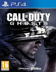 Call of Duty Ghosts PS4 £10 @ Sainsburys instore
