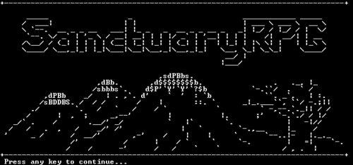 SanctuaryRPG Classic game FREE @ Desura