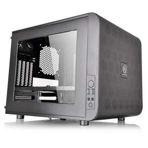 Thermaltake Core V21 Matx Mesh Stackable Case with 200 mm Fan, Black -  £48.74 delivered @ Amazon