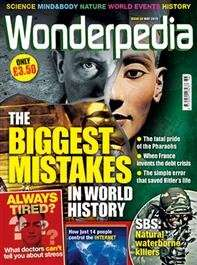Wonderpedia 6 Issues for £10 (Then £33 DD) - Plus £6.30 TCB = Potential £3.70 for 6 issues