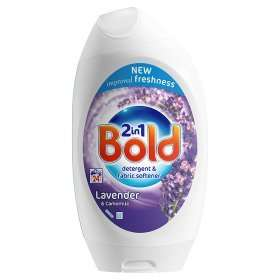 Bold 2in1 Washing Gel Lavender & Camomile Detergent + Touch of Lenor freshness (888ml = 24 Washes) ONLY £2.99 @ Bargain Buys