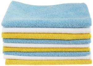 AmazonBasics Microfibre Cleaning Cloths Pack of 36 for £6.37 + £3.30 p&p (£9.60) or free delivery with Prime @ Amazon