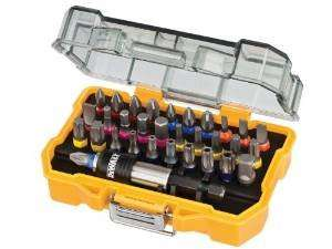 DeWalt DT7969 32 Piece XR Professional Magnetic Screwdriver Bit Accessory Set £10.26 (prime) £13.56 (non prime) @ Amazon