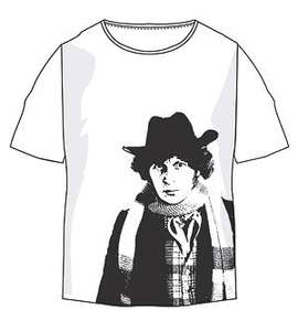 Doctor Who Classic Tom Baker T-Shirt only £7 delivered @ BBC Shop