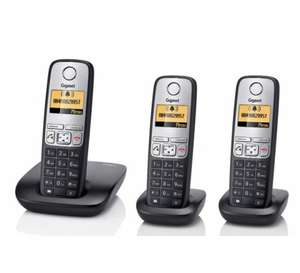 Siemens Gigaset AS400 Triple handset DECT phone £25.44 @ CPC