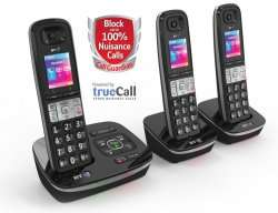 BT 8500 Trio Digital Cordless Answer Phone with Advanced Call Blocker £59.99 delivered @Telephones online