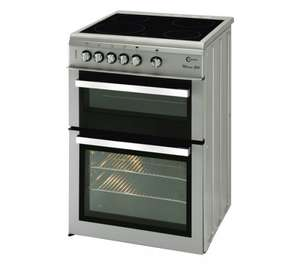 FLAVEL Milano ML61CDS Electric Ceramic Cooker (Silver & Chrome) £299.99 @ Currys