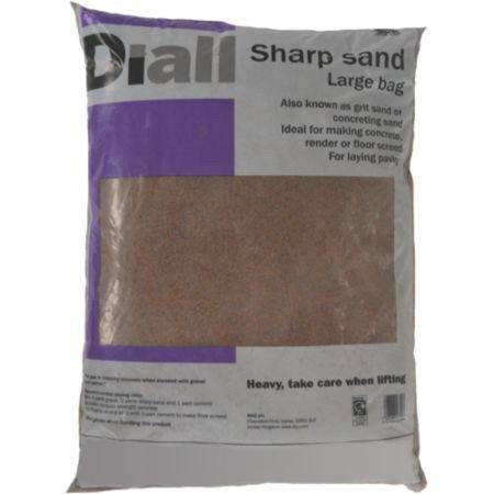 B&Q Diall sharp sand bag multi-buy £1 each if buying 10 or more Instore @ B&Q