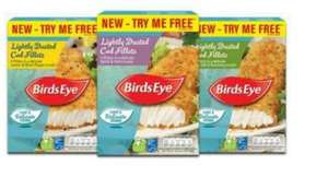 Birds Eye lightly dusted cod fillets 225g - all varieties from £1.50 - Claim £1.51 via CheckoutSmart/Clicksnap + Pickup A Try Me Free packet = Freebie + Profit!! (Read description for prices)