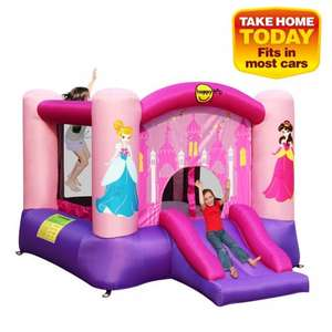 Princess Bouncy Castle - includes Slide and Basketball Hoop (why?) £99.99 @ Smyths