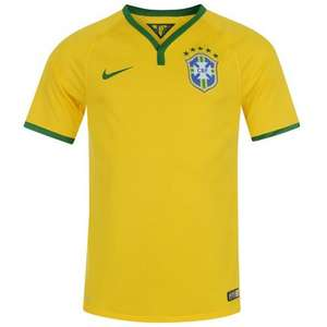 Brazil 2014 shirt from £14.00. + £3.99 del (£17.99) (Read Description) - Sports Direct
