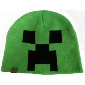 Minecraft Creeper Boys' Green Beanie Hat - 7-10 Years @ argos £6.99