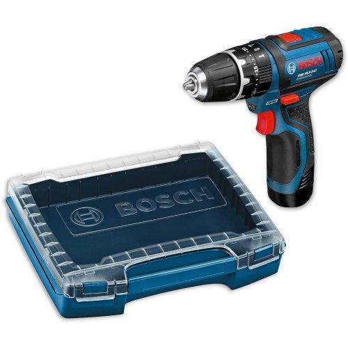 AXMINSTER: Bosch Professional GSB 10.8v 2.0Ah Li Combi Drill & I-BOXX Case: £72.95