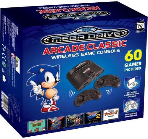 SEGA Megadrive Wireless Games Console (60 games) - £31.99 - Argos