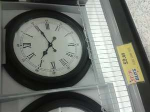 large clock £9.99 @ Home bargains
