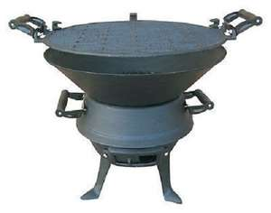 Cast Iron Potbelly BBQ £18.99 on rscommunications eBay