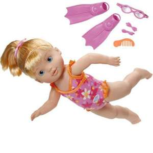 My Little BABY born I Can Swim Doll  £12.46 free delivery with £29.99 spend or £4.95 if spend is less  @ toysrus on ebay