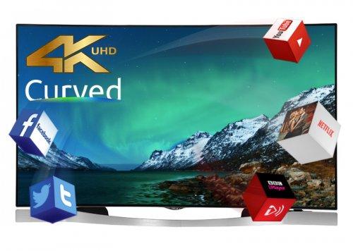 Finlux 55UT3EC320S-T 55inch 4k Curved TV £1299 @ finlux
