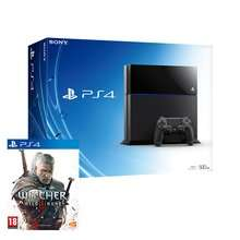 [Starts Midnight] PS4 Black or White Console & The Witcher 3 & 3 Months PS Plus Membership £279.99 @ Amazon