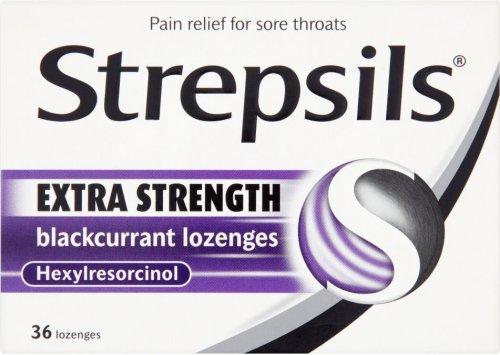 Strepsils Extra Strength Blackcurrant or Honey & Lemon Lozenges (36) ONLY £3.00 @ Lidl