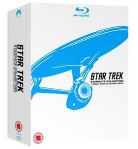 Star Trek: Stardate Collection - The Movies 1-10 (Blu-Ray) Rakuten (The entertainment store) £39.99 delivered