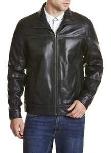 Mens Leather Jacket Was £359 Now £99 with Free Delivery @ Lakeland leather